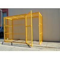 Wholesale Professional Compressed Gas Cylinder Storage Cages With CE / ISO9001 Certificate from china suppliers
