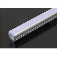 Wholesale Round Aluminum Square Tubing , Aluminium Housing For LED Strip Lights2m Length from china suppliers