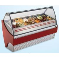 China 480L Stainess Steel Ice Cream Showcase Freezer With Digital Temperature Controller 1568mm Length for sale