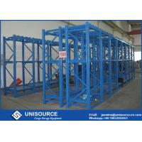 Wholesale 800 Kg / Level Heavy Duty Metal Shelves Green With Crane On Top Level from china suppliers