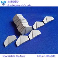 Buy cheap YG15 K20 P30 hard alloy cemented carbide brazed tips&tungsten carbide cutting from wholesalers