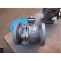 Full Bore Flanged Ball Valve , Floating ANSI 150 LB High Temperature Ball Valves