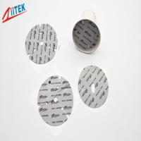 Wholesale Wholesale self-adhesive silicone 1mmT thermal gap pad 45shore00 TIF140-02S for LED bulb lights from china suppliers