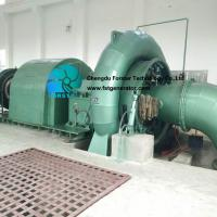 Movable Guide Vane Francis Turbine Generator 100kw - 1.5mw Easy Installation for sale