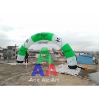 Best Free Air Blower Event/Race/Sport Props Inflatable Arcade/Inflatable Archway With Removable Banner wholesale