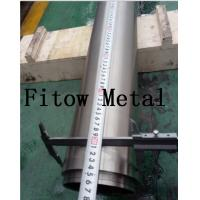 Wholesale Baoji Fitow spray coating zirconium circle target for sputtering | High Quality from china suppliers