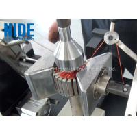 China Semi - Auto Armature Coil Winding Machine For Slot Motor Wire Winding for sale