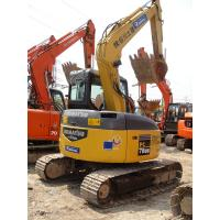 China Komatsu digger second hand midi excavator PC78US on sale