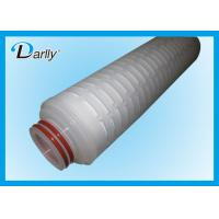 Best 0.45 Micron Filter Cartridge 0.2 Micron Water Filter Cartridges For Chemical Industry wholesale