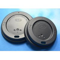 Best 80mm / 90mm 4oz Take Away Single Wall Disposable Coffee Cup Lids Covers wholesale