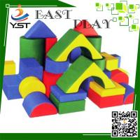 Wholesale Colorful Soft Play Sponge , Soft Baby Blocks D4605 No Toxic For Preschool from china suppliers