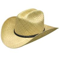 China western straw cowboy hat on sale