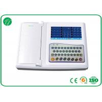 China Real - Time Automatic Analysis Portable ECG Machine 12 Channel Protection Circuit on sale