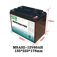 Wholesale Rechargeable Battery Pack 12v Output , NCM/LiFePO4 Car Battery Backup from china suppliers