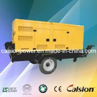Wholesale 60Hz Calsion 250kVA Silent Trailer Diesel Generator (C250P6S) from china suppliers