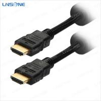 Buy cheap Linsone Single color black Hdmi to hdmi cable 1.4 from wholesalers