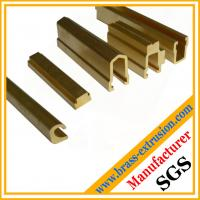 Wholesale Brass bathroom parts extrusion profiles from china suppliers