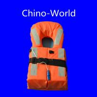 China Kids marine life jacket with collar for ocean-going ships on sale