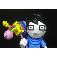 Wholesale Glasses Boy Custom Action Figures Home Decoration With A Colourful Chopper from china suppliers