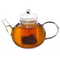 Wholesale Pagoda Clear Borosilicate Glass Teapot with Infuser , Filter 900ml from china suppliers