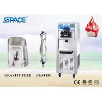 Fast Refrigeration Commercial Soft Ice Cream Machine With 3 Flavor 220V for sale