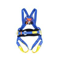 China Area Work Full Harness Safety Belt Blue Color Lightweight One Size Fits All on sale