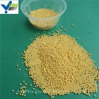 Wholesale High quality golden cerium zirconia grinding media for paints and pigments from china suppliers