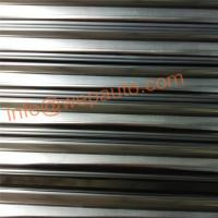 Buy cheap Induction hardened and hard chrome plated bars of the material bearing steel. from wholesalers