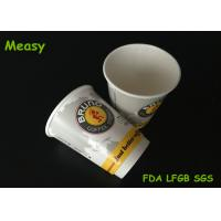 Wholesale 12oz 400cc Disposable Double Wall Hot Drink Paper Cups Heat Insulation from china suppliers