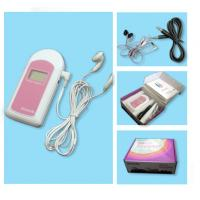 FDA Handheld Fetal Doppler Baby Sound B Heart Beat Monitor LCD/ Earphone/ GEL Unburn Baby for sale