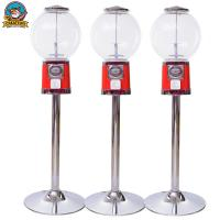 China High Performance Spherical Gumball Vending Machine With Small Mini Toy on sale