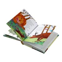 China Full Color Hardcover Children's Book Printing Customized Service A4 A5 Size for sale