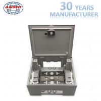 Wholesale Embed 30 Pair Copper Indoor Termination Box With Back Mount Frame from china suppliers