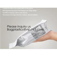 China Aluminum Foil Medicine Weed Seeds Packaging bag with Zip Lock,Barrier Stand up Plastic Food Packaging Bag Retort Pouch f on sale