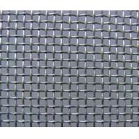 Wholesale Black iron square wire mesh , customized , Galvanized Iron , 0.5mm Gauge from china suppliers