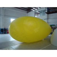 Wholesale Yellow Zeppelin Helium Balloon Inflatable Waterproof For Outdoor Sports from china suppliers