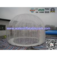 Wholesale Double Layer 4 M Diameter Inflatable Outdoor Bubble Tent / Clear Dome Tent from china suppliers