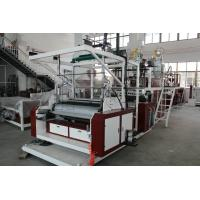 Best SLW - 1000mm Three Layers Stretch Film Machine HDPE / LDPE Material wholesale