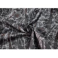 China Digital Printed Apparel Fabric / Printed Polyester Fabric Soft Touch on sale