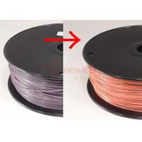 Wholesale Spool ABS Color Changing Filament Purple To Pink , 1.75MM ABS Filament For UP / Reprap from china suppliers