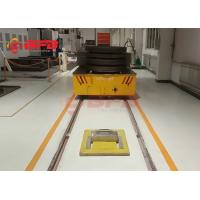 China Omnidirectional 15t Battery Transfer Cart For Transporting Aluminum Product on sale