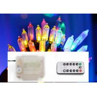 China 3 AA Battery Operated LED String Lights Indoor Decorative Colorful Lamps on sale
