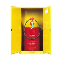 Wholesale Flame Proof 2 Door Drum Storage Cabinets 60 Gallon For Chemical Liquid from china suppliers