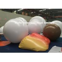 Wholesale Hanging Blow Up Light 2m 3m 4m White PVC Balloon With LED Lightings Inside from china suppliers