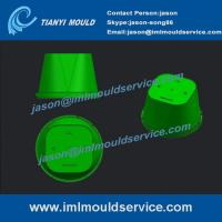 Wholesale thin wall plastic cups molded,PP thin wall plastic cups molded design, iml cup mold from china suppliers