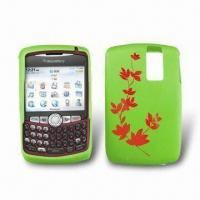 Buy cheap Silicone Skin Case for Blackberry 8300, Various Colors are Available from wholesalers