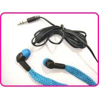 China Comfortable And Stylish Blue Color Waterproof Earphones, Stereo In-Ear Earphone For Swimming on sale