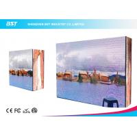 Wholesale 281 Trillion Color Outdoor Advertising LED Display With Steel / Aluminum Panel from china suppliers