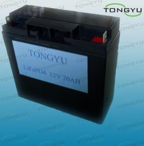 Lightweight 20Ah 12V LiFePO4 Battery for Solar Storage , Grid Backup Systems