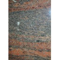 Indian Multicolor Red Granite Floor And Wall Tiles High Density CE Certification for sale